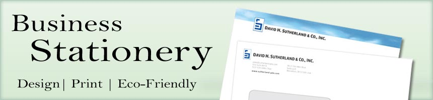Business Stationery - Letterhead and Envelopes